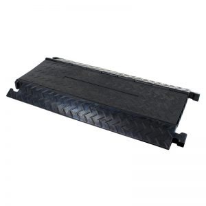 CP 535B 5 Channel Cable Ramp with black lid