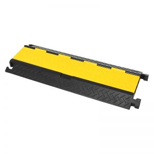 CP380 3 Channel Cable Ramp with yellow lid