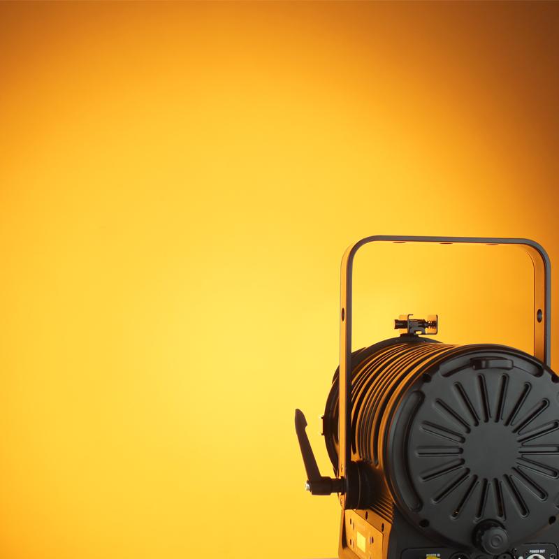 MP180 LED Fresnel RGBALC Orange Light Effect