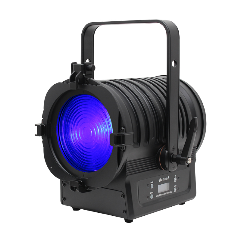 The MP180 LED Fresnel RGBALC is ideal for use in Theatre Lighting