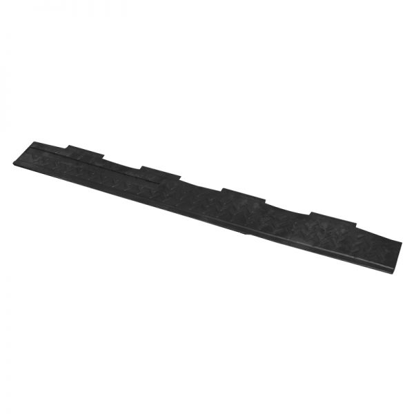 Black lid for 2 channel cable ramp