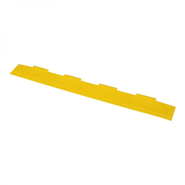 Yellow Lid for 2 Channel Cable Ramp