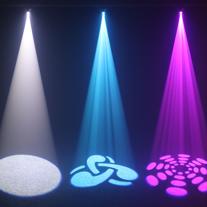 Fusion Spot MAX MKII White, Blue and Pink Light Effects