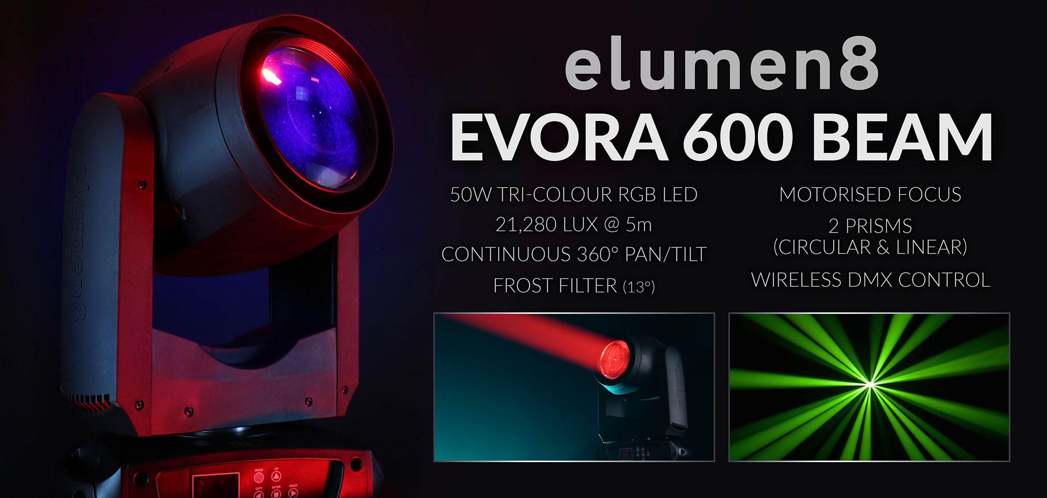 Evora 600 Beam Home Page Banner