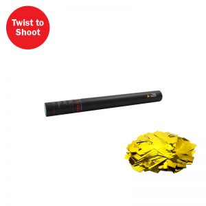 Handheld Confetti Cannon 50cm Gold Slow Fall Confetti