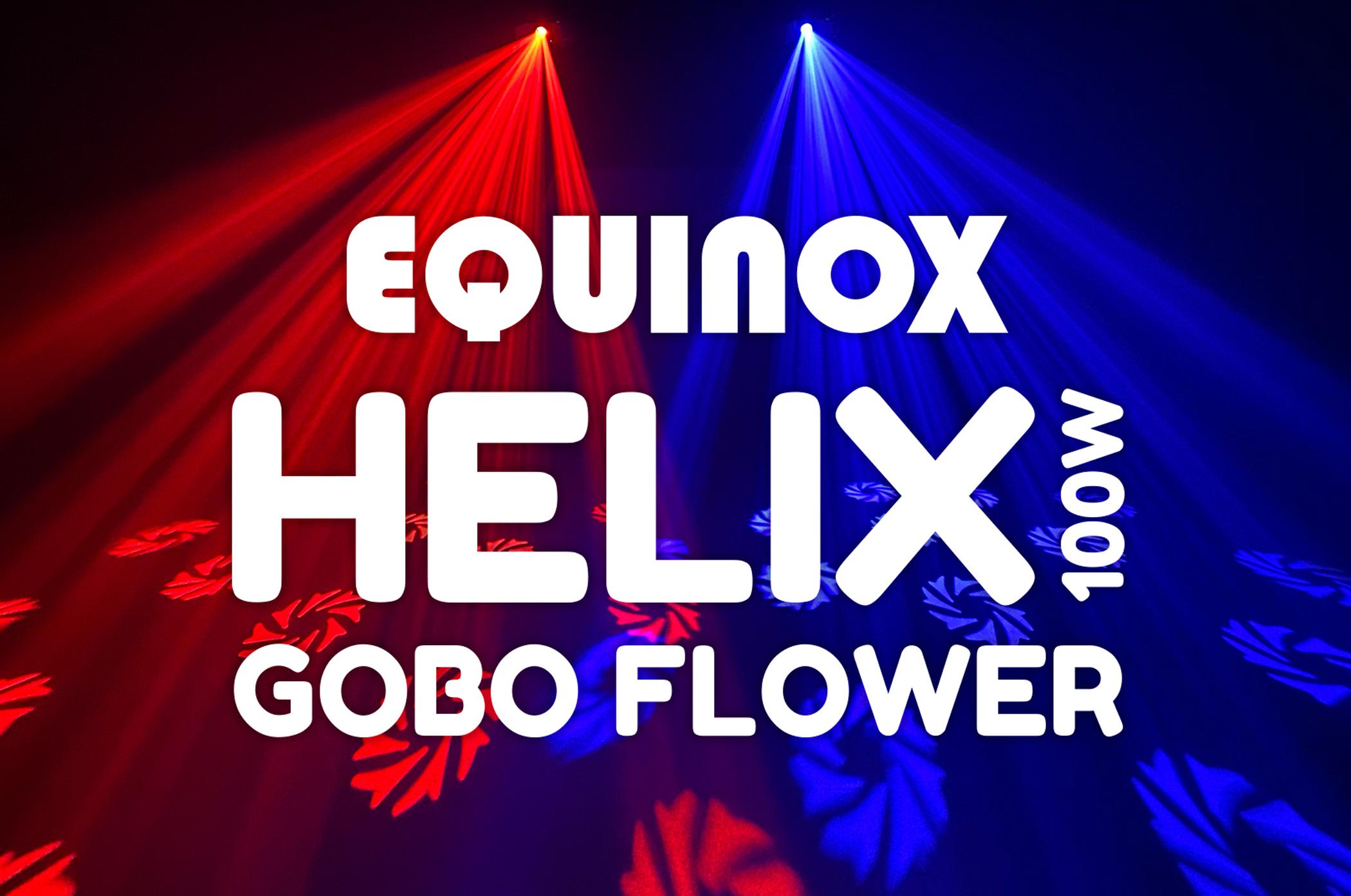 Equinox Helix Gobo Flower