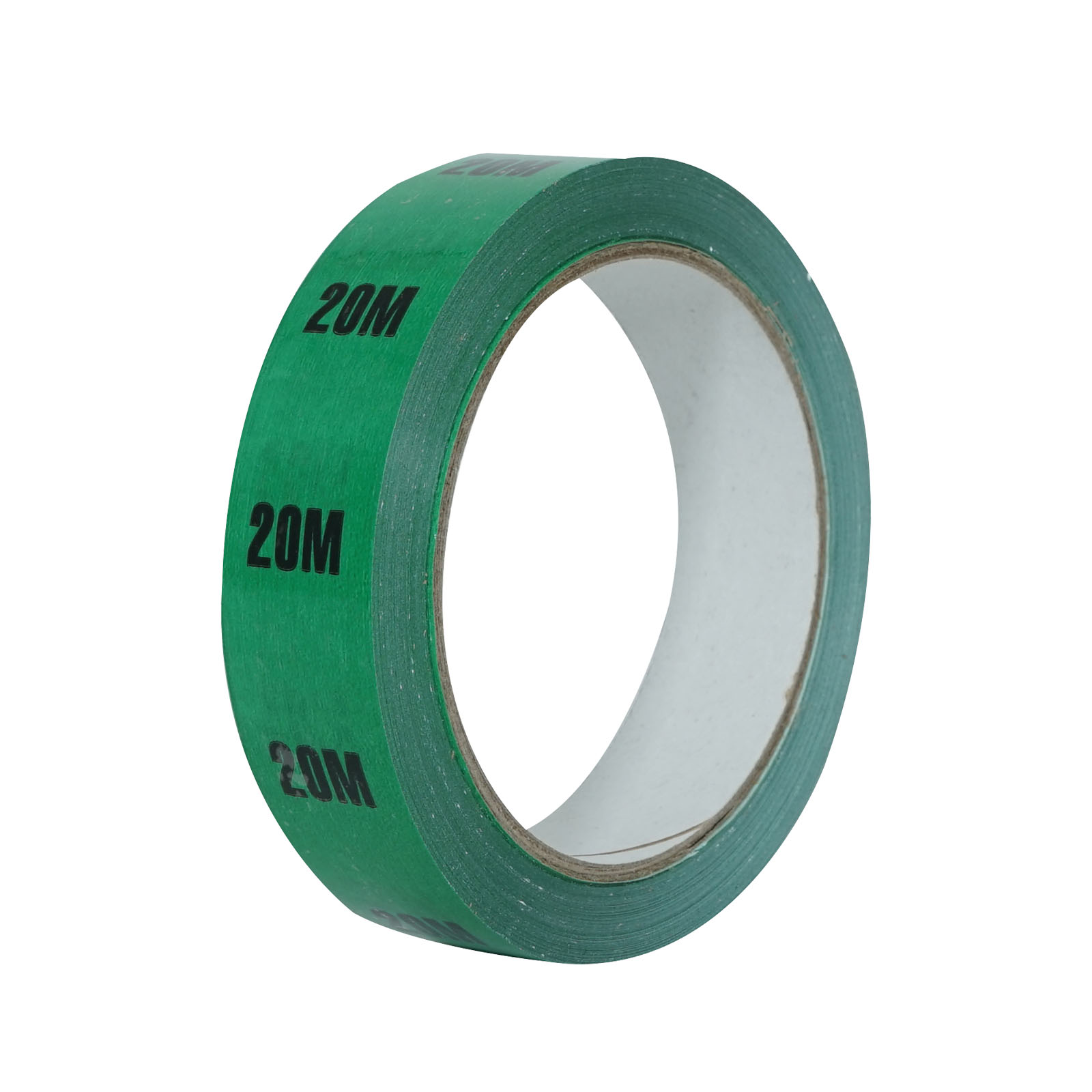 Cable Length ID Tape 24mm x 33m – 20m Green