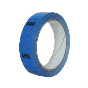 40m Blue Cable Length ID Tape 24mm x 33m