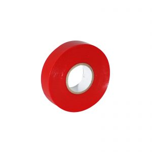 Red Economy PVC Insulation Tape 19mm x 33m