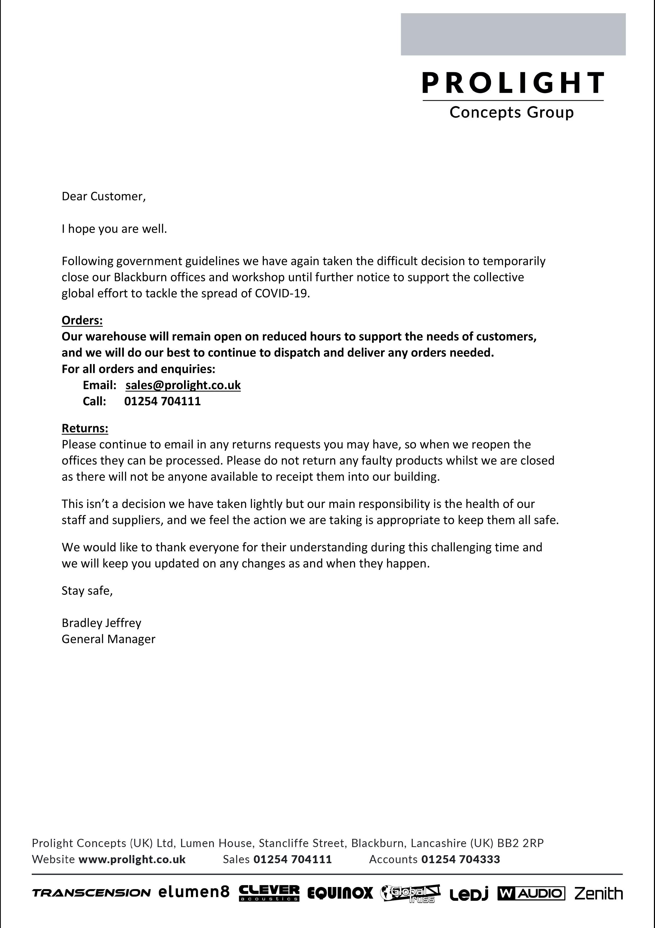 Microsoft Word - Coronavirus Closure.docx