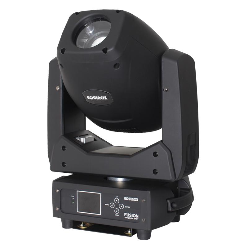 Equinox Fusion 200 Zoom Spot Moving Head