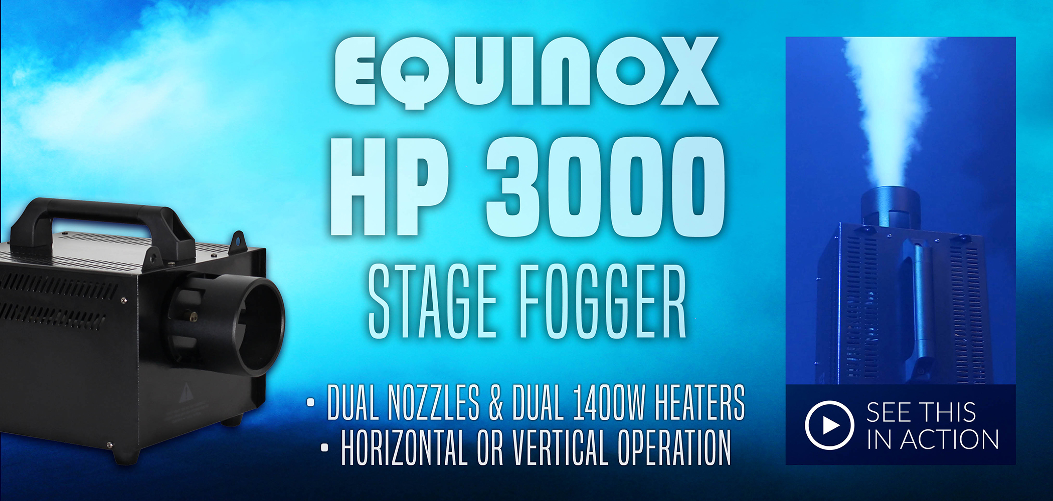 HP3000 Stage Fogger
