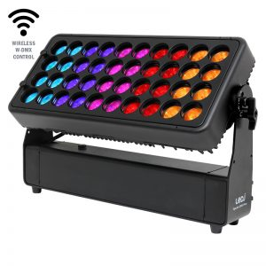 Spectra QX40 Pixel Exterior Fixture is a rival to the Chauvet COLORado Panel Q40 and the Prolights SOLAR48Q