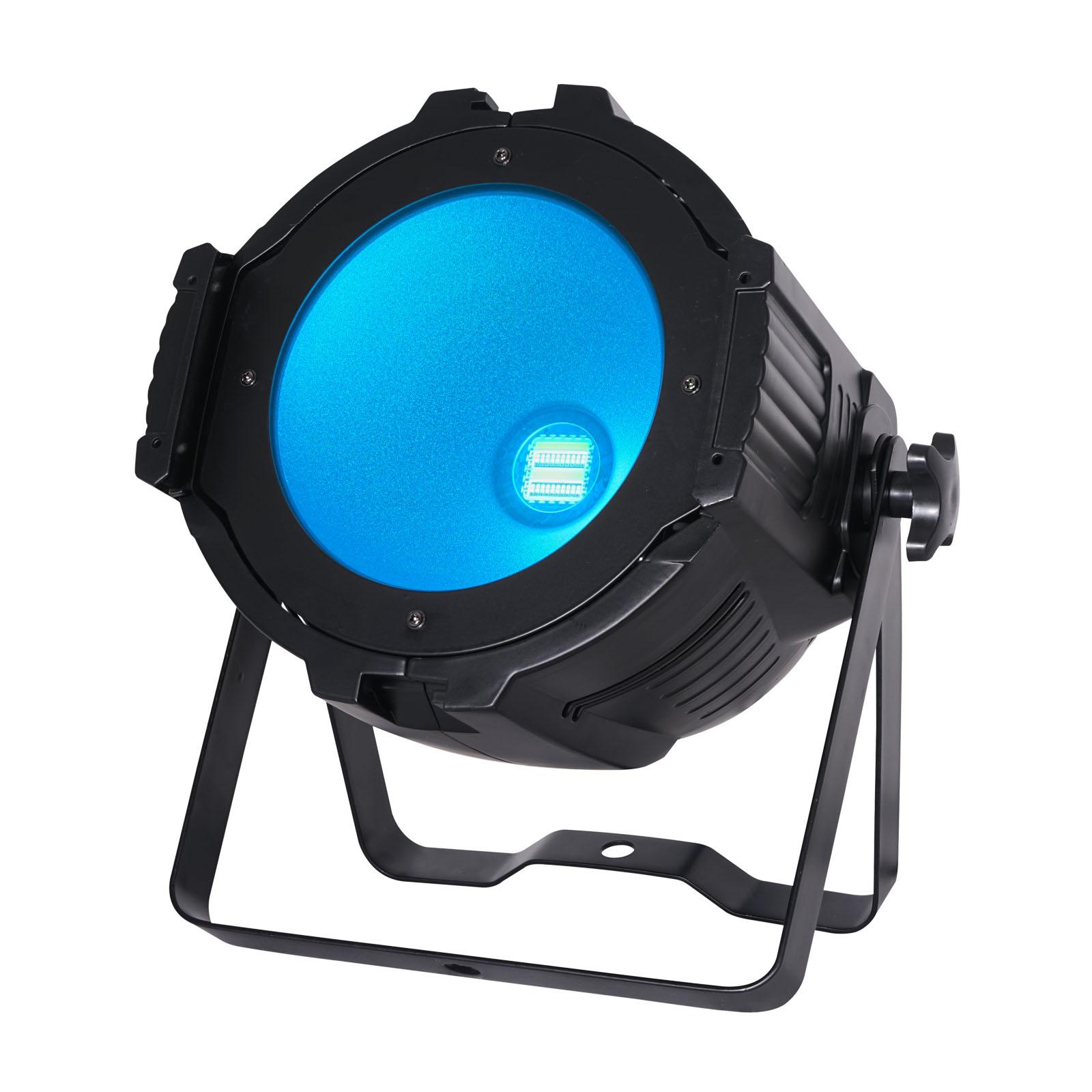 Performer 200 Quad LED Par lit up blue
