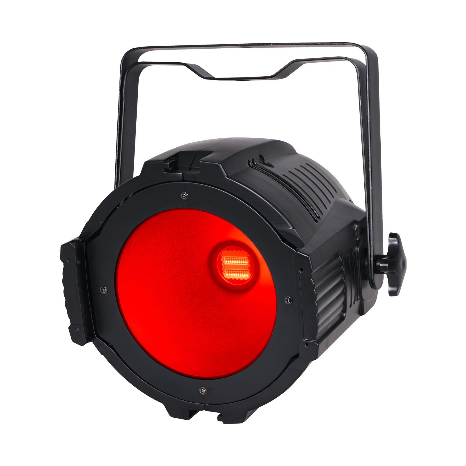 LEDJ Performer 200 Quad lit up red
