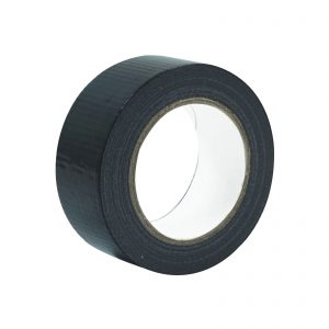 A roll of Black Economy Cloth Gaffer Tape 48mm