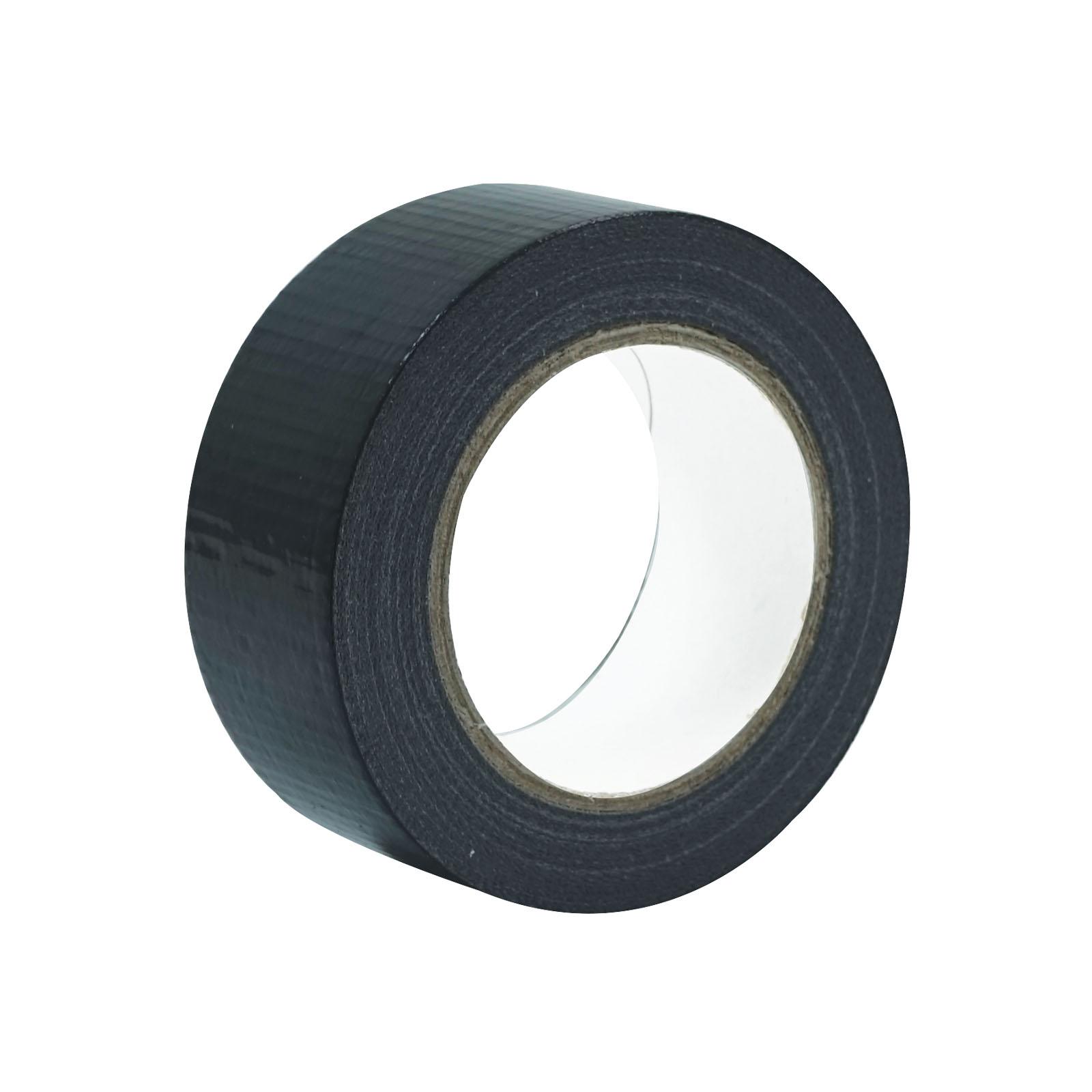 A roll of Black Economy Cloth Gaffer Tape 48mm