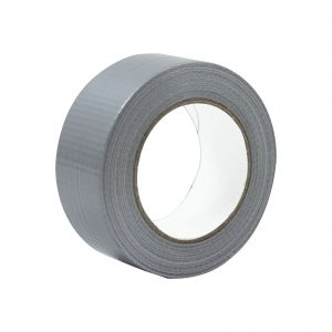 A roll of Silver Economy Cloth Gaffer Tape 48mm