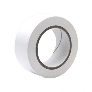 A roll of White Economy Cloth Gaffer Tape 48mm