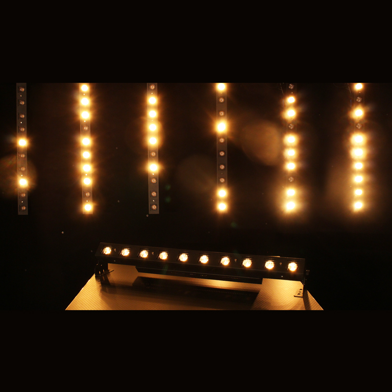 Halogen emulation from the Tour Batten to create Sunstrip style lighting effects