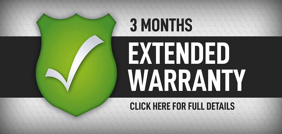 3 MONTHS EXTENDED WARRANTY