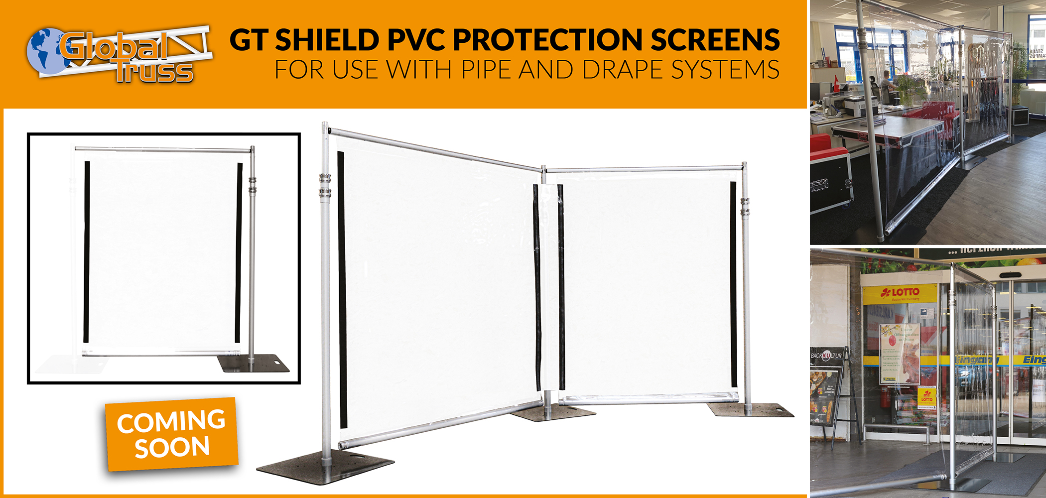 GT Shield PVC Protection Screens