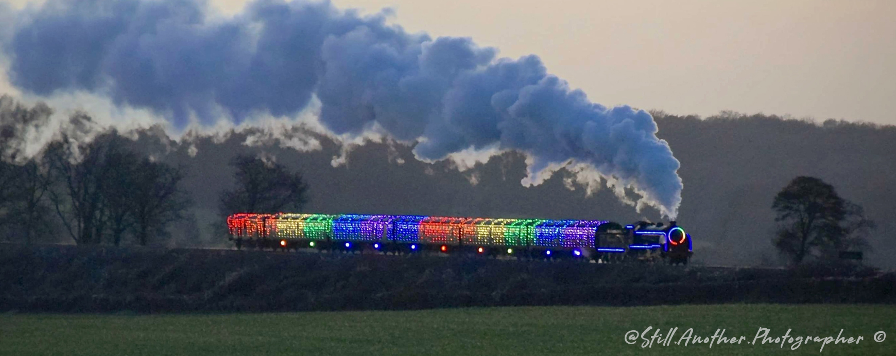 Steam Illuminations with LEDJ