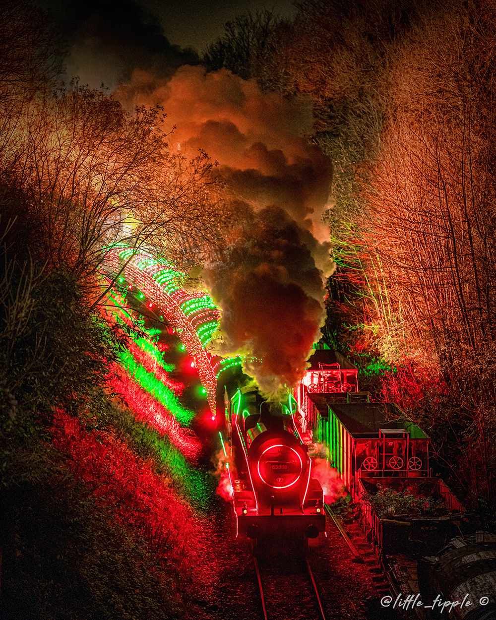 Steam Illuminations with LEDJ - Little Tipple